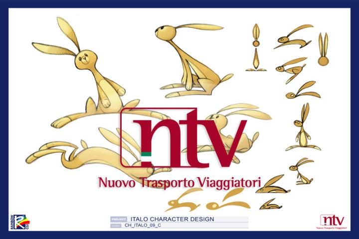 NTV, ITALO Nuovo Trasporto Viaggiatori, Concept Book